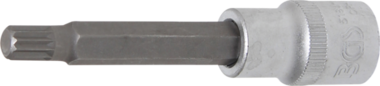 Chiave a bussola lunghezza 100 mm 12,5 mm (1/2) dente multiplo (per XZN) M9