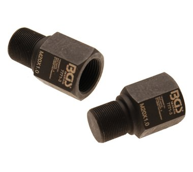 Adattatore di smontaggio da BGS 7771 | M20 x M20 x 49 mm