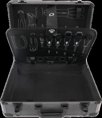 Valigetta vuota in alluminio per set di utensili BGS-15501