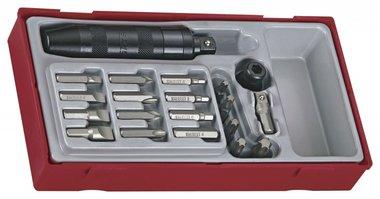 Set cacciavite a percussione tc-tray 1/2 20dlg