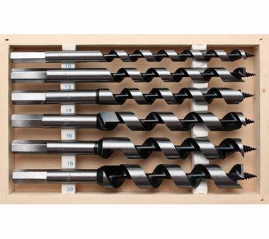 Set coclea per tubi flessibili 200 mm 6 pz.