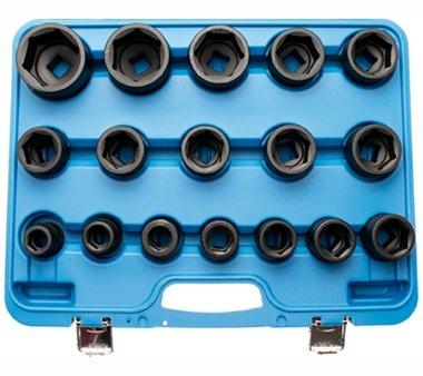 Set di prese a urto da 17 pezzi 3/4, 19 - 55 mm