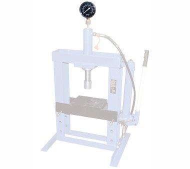 Manometro per officina idraulica Pressa
