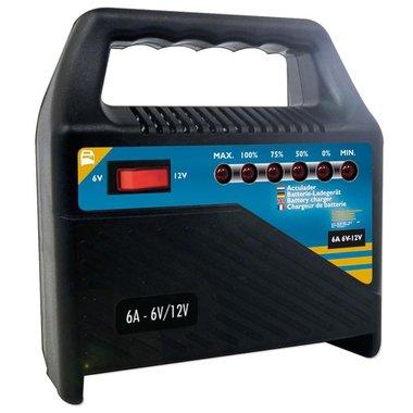 Caricabatterie 6V/12V 6Amp.