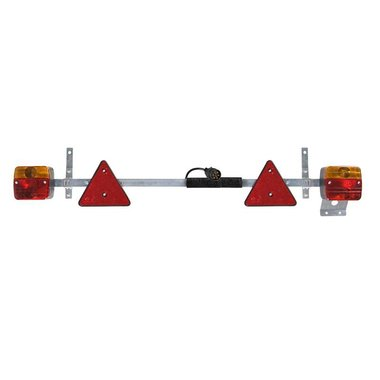 Barra di illuminazione in metallo 110-160cm estensibile cavo 7,5M