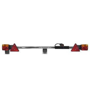 Barra di illuminazione in metallo 140-200cm estensibile cavo 12M