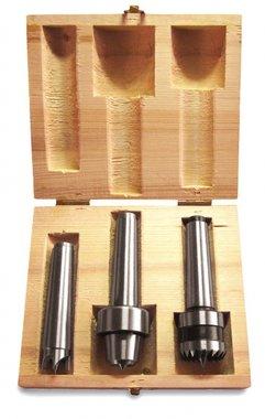 Set di 3 accessori per tornio per legno
