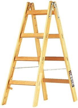 Scala in legno 2x4 pioli Altezza della scala a telaio 1,2m