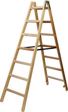 Scala in legno 2x7 pioli Altezza della scala a telaio 1,84m