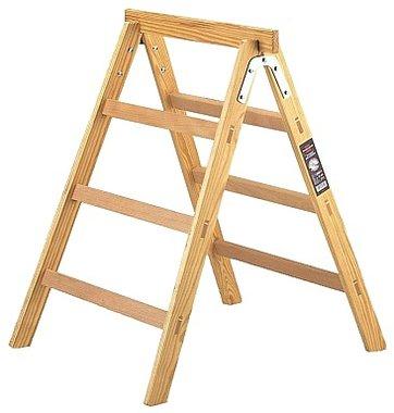 Scala in legno  cavalletto HAB 150