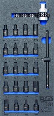 1/3 Modulo utensili Chiavi a bussola 22 pezzi chiavi a bussola e filtro dell'olio