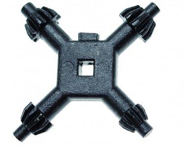 Chiave a croce universale a testa di foratura 4 - 7 mm