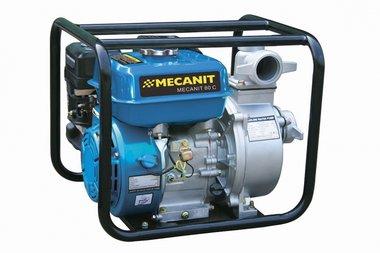 Pompa con motore a benzina per acque reflue 100 mm