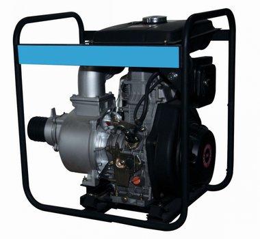 Pompa con motore diesel per acque reflue