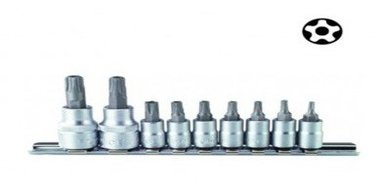 Set di tappi 5 lati Resistorx TS 9 pezzi