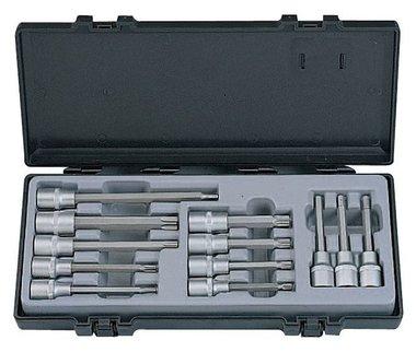 1/2 set di prese Inbus - Torx - Torx - Spline 12 pezzi