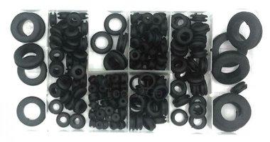 Gommini di gomma assortimento 180 pezzi