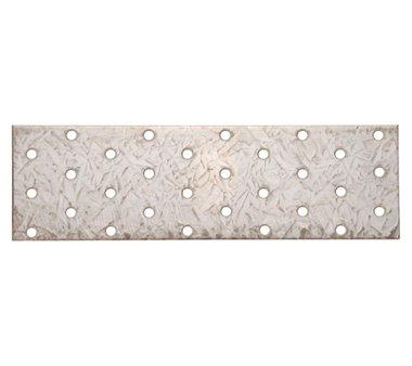 Piastra in acciaio con fori, 200 x 60 mm
