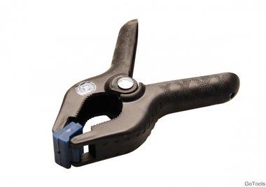 Pinze per colla / morsetto a molla, ABS, 100 mm