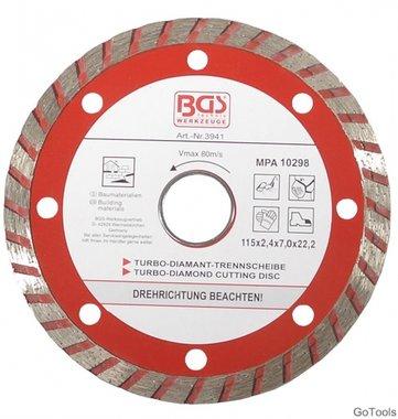 Dischi da taglio turbo diametro 115 mm