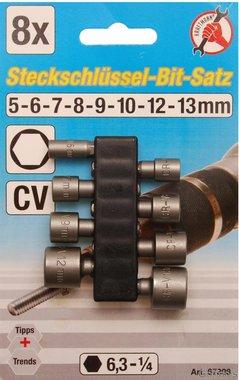 Set di tappi per inserti, 5-13 mm, 8 parti