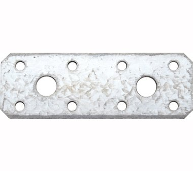 Connettore piatto in acciaio 100 x 35 x 2,5 mm