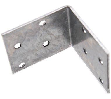 Piastra angolare Giunto, 50x50x40x2 mm, zincato