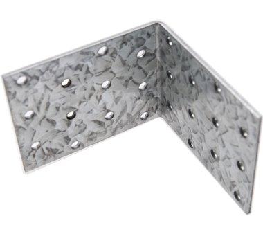 Piastra angolare Giunto, 80x80x60x2,5 mm, zincato