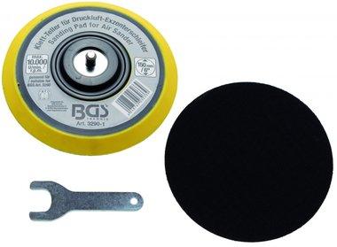 Tampone a gancio e anello per BGS 3290 / 8688 diametro 150 mm