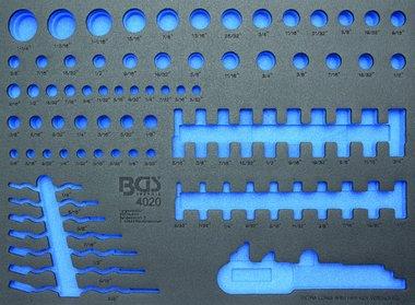 3/3 Modulo utensile, vuoto: per chiavi a bussola e chiave combinata