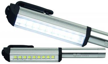 Pin LED in alluminio con 9 LED