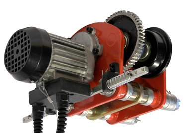 Carrello elettrico per paranchi 350x300x220mm