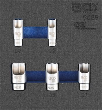 Set di tappi per connettori a gomito in 5 pezzi