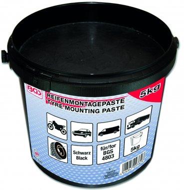 Pneumatici di montaggio pasta nera 5 Kg