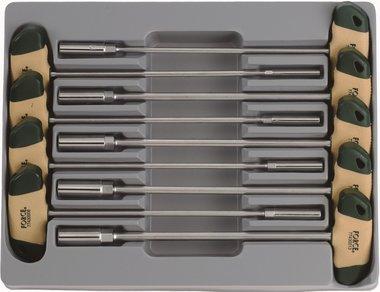 Set di chiavi a T SAE 9 parti