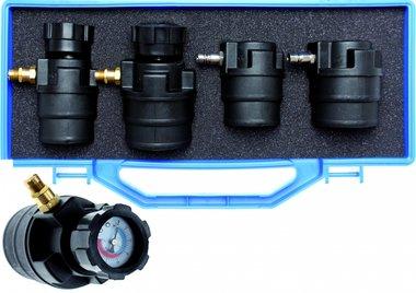 Valigia per diagnosi turbo con manometri 55 - 60 - 65 - 70 mm