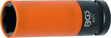 2/1 Cappucci protettivi a manicotto lunghi, 21 mm per Hyundai i30, Tucson e Kia