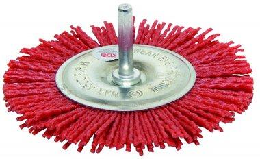 Spazzola in nylon, 100 mm, 6 mm Albero