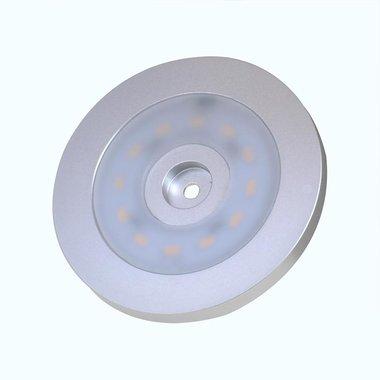 Faretto da superficie 12 LED 12V 240lm diametro 55x5.0mm