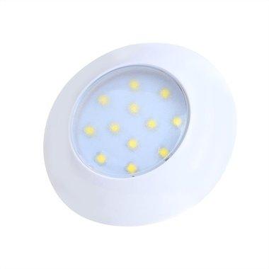 Plafoniera / apparecchio a plafoniera 12 LED 12V 240lm diametro 75x18mm