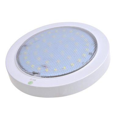 Plafoniera 42 LED 12V 840lm diametro 220x50mm