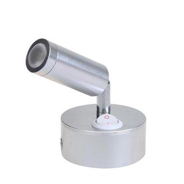 Faretto da esterno orientabile a 1 led girevole 12V 120lm diametro 65x65-130mm