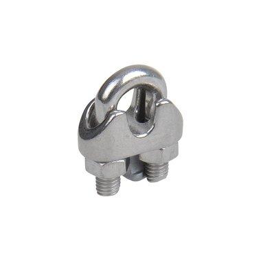 Morsetto in acciaio 4-5mm, A4 in acciaio inox AISI 316