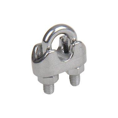 Morsetto in acciaio 6mm, A4 in acciaio inox AISI 316