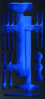 Cassetta degli attrezzi 1/3 (408x189x32 mm), vuota, per martello a 14 pezzi