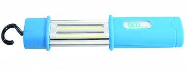 Lampada manuale a batteria COB-LED impermeabile 5 W