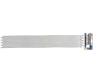 Set di fascette per cavi in 10 pezzi 8,0 x 1000 mm