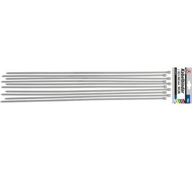 Set di 10 fascette per cavi in 10 pezzi 8,0 x 800 mm