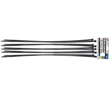 Set di 10 fascette per cavi in 10 pezzi 8,0 x 700 mm