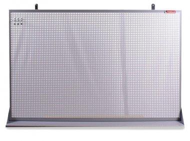 Perfopanel metallo grigio metallizzato 150x94cm